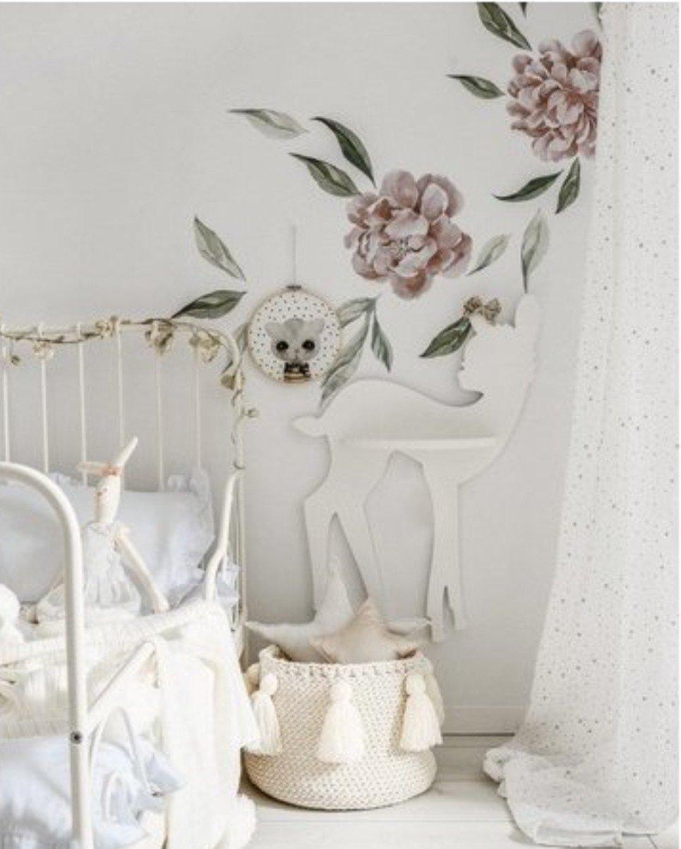 Baby Deer Children's Wall Shelf
