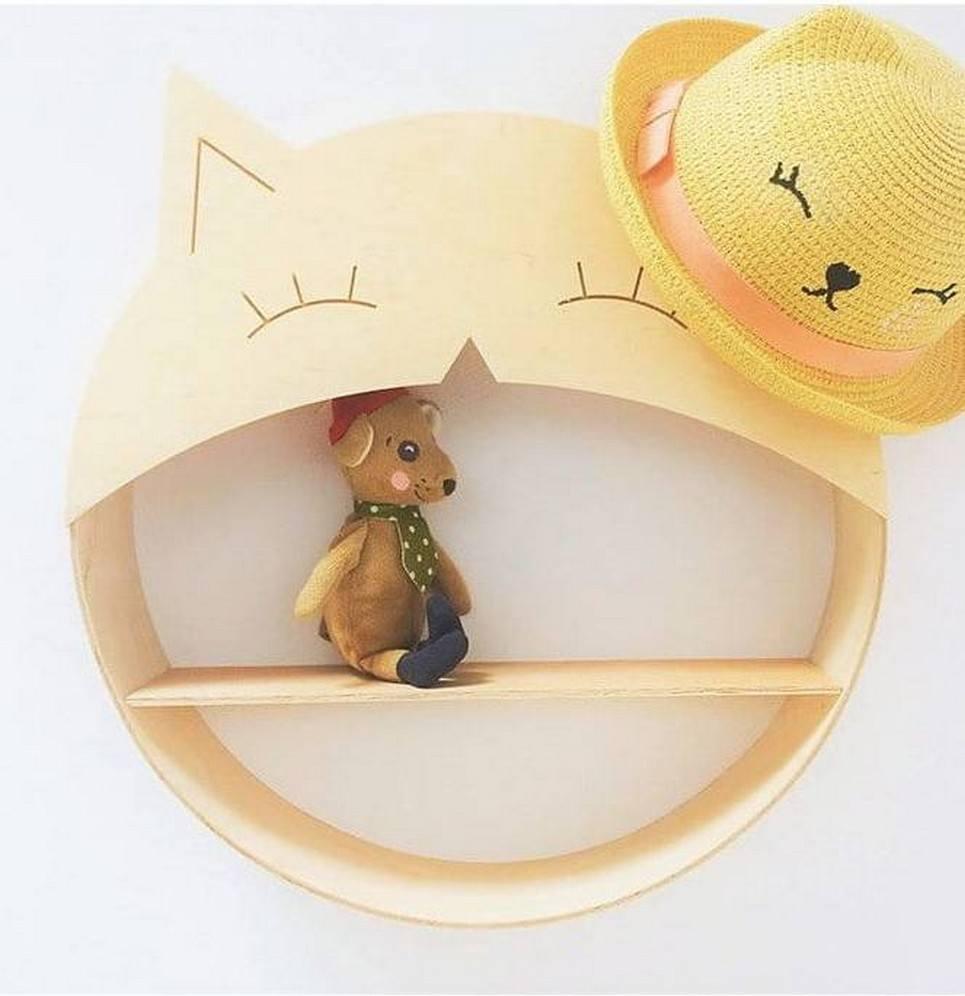 Cat Children's Wall Shelf