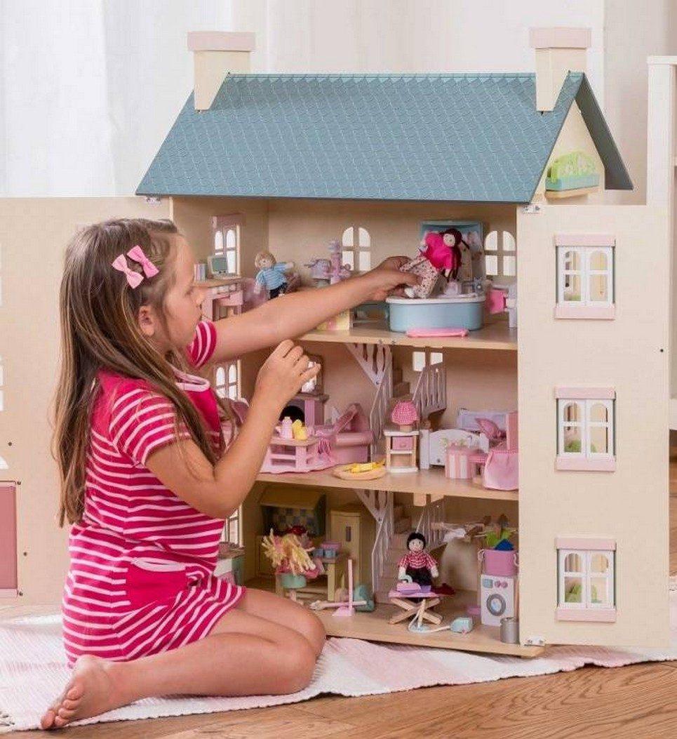 Cherry Tree Hall Wooden Dolls House