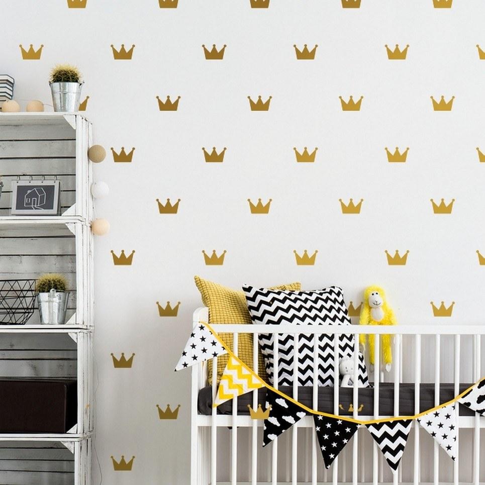 Crown Children's Wall Sticker