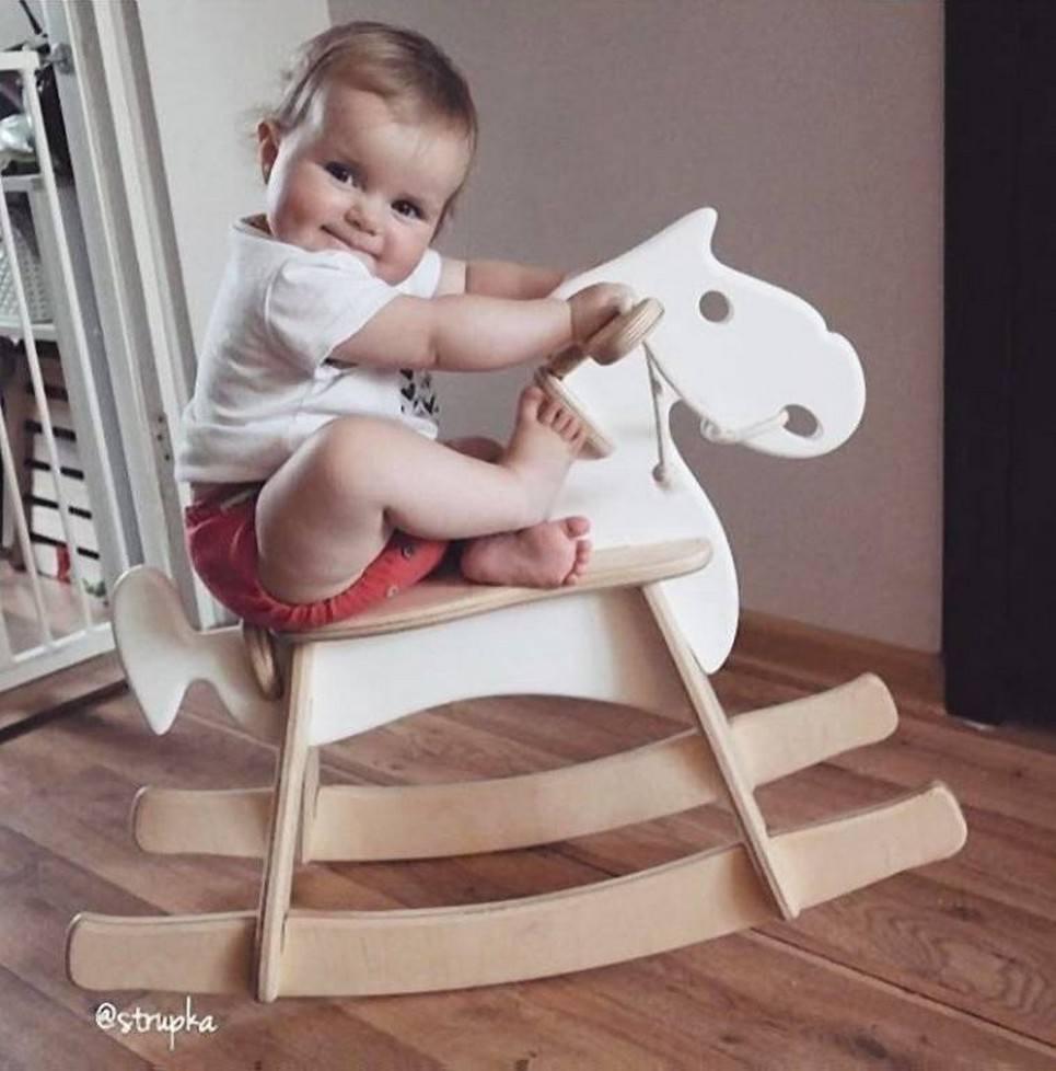 Retro Children's Rocking Horse