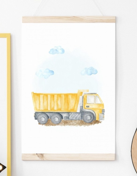 A unique keepsake that will create enchanting memories, the Tipper Children's Poster is a really unique and eyecatching print that is loved by kids and adults. Encourage their wild side with this fun print. Designed in a playful font, they will make a great addition to any nursery, child's room, or playroom.
