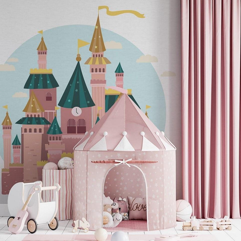 Castle Children's Wallpaper