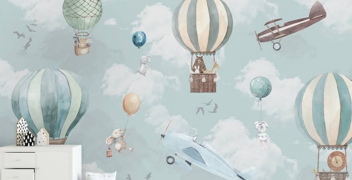 Those days are gone when nursery wallpapers were cheesily designed, difficult to apply...and impossible to remove. Baby wallpaper has received a major makeover just like the modern nursery itself-which has evolved to become less flamboyant and more sophisticated.
