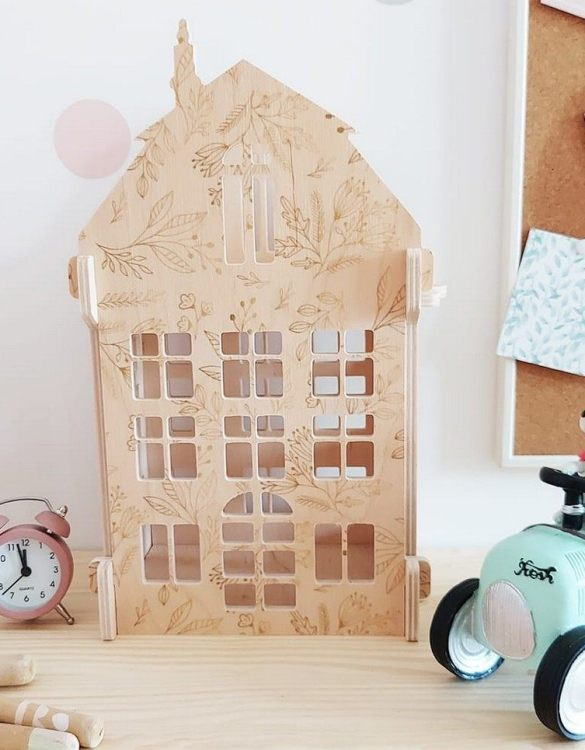 """With a beautiful design, the Forest Flowers Children's Dolls House has been created not only for great fun, but also are a unique decoration for children's rooms. Toys that help to pretend to be """"adults"""", such as mini-cookers, prams, or dollhouses are very important in the development of a child."""