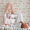 Sure to be adored by little ones, the Rainbow Children's Wallpaper is a fun addition to any nursery or playroom. Go on an adventure with our kid's wallpaper for children's rooms! A well-chosen pattern can visually enlarge the interior.