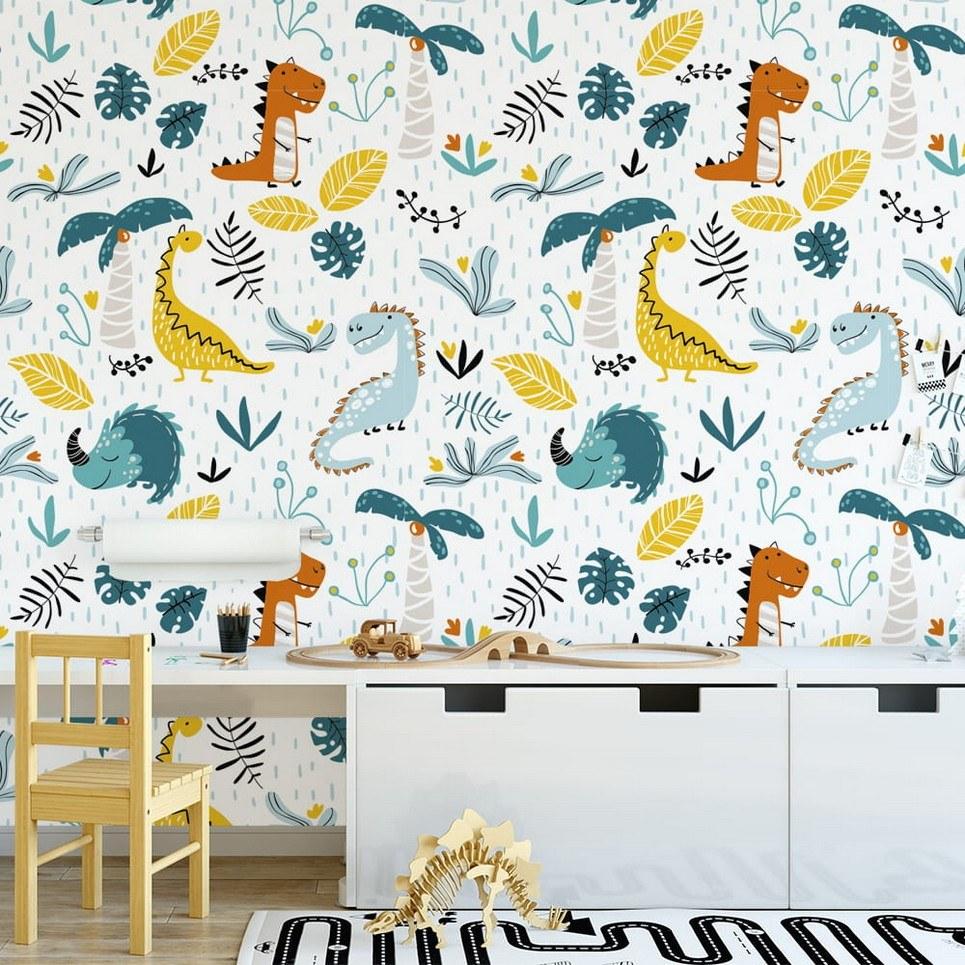 Dinosaurs 2 Children's Wallpaper