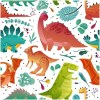 Sure to be adored by little ones, the Dinosaurs 5 Children's Wallpaper is a fun addition to any nursery or playroom. Go on an adventure with our kid's wallpaper for children's rooms! A well-chosen pattern can visually enlarge the interior.
