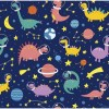Sure to be adored by little ones, the Dinosaurs 6 Children's Wallpaper is a fun addition to any nursery or playroom. Go on an adventure with our kid's wallpaper for children's rooms! A well-chosen pattern can visually enlarge the interior.
