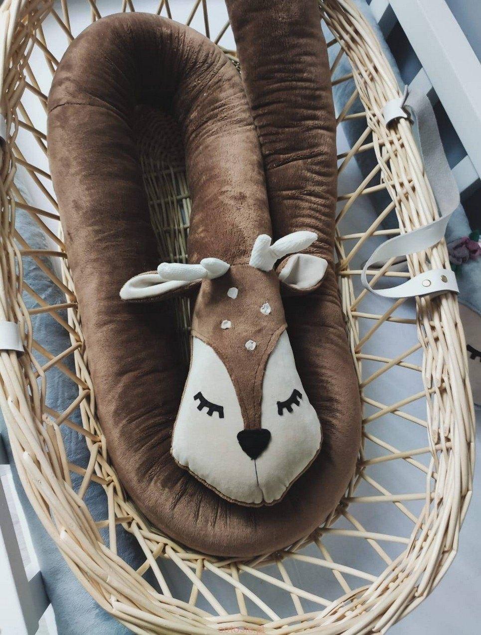 Roe Deer Minky Cot Bumper