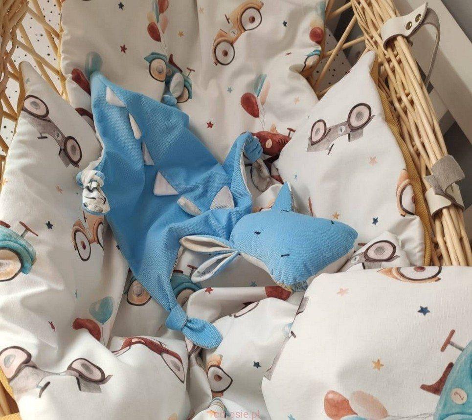 Blue Dragon World Map Doudou Baby Comforter