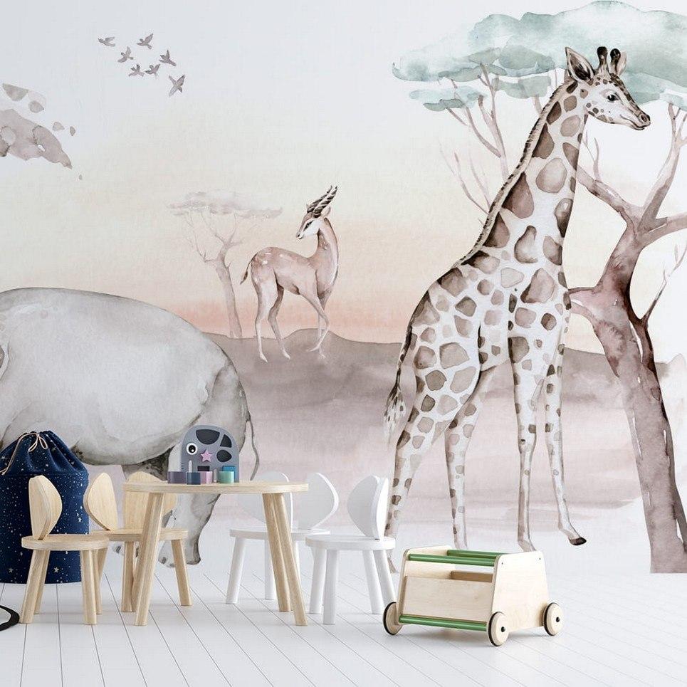 Jungle and Friends 16 Children's Wallpaper