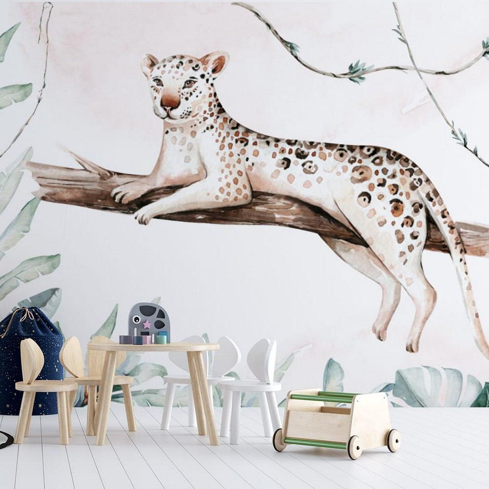 Jungle and Friends 8 Children's Wallpaper