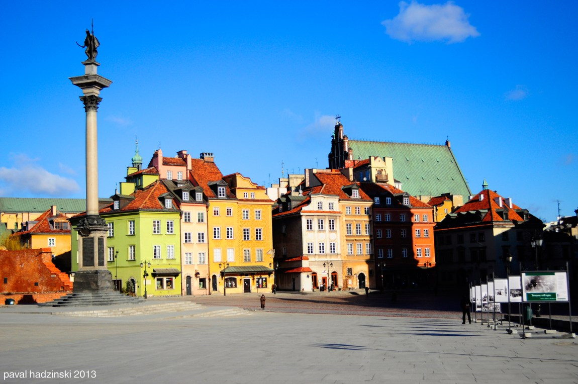 Gourmand Guide Warsaw tour old town
