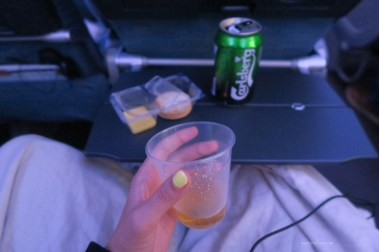 Cathay Pacific CX134 economy snack