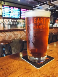 Perfect pint each time at the Heart of Darkness.