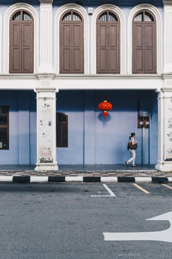 Ipoh blue building