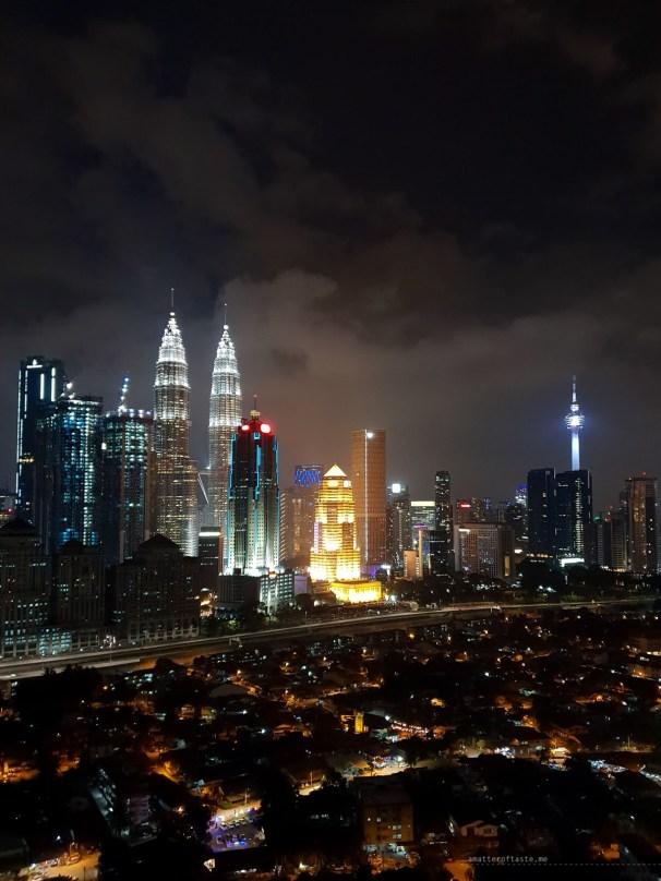 Kampong Baru Malaysia KL apartment night view