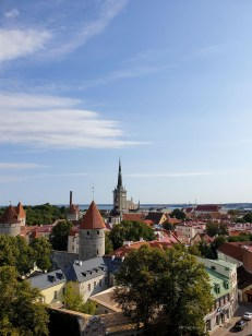 Life in Tallinn - Old Town from a lookout