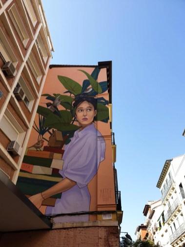 Madrid Street Art large scale