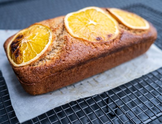 Orange pound cake with cardamom recipe