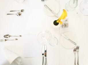 Pavillon fine dining brno table