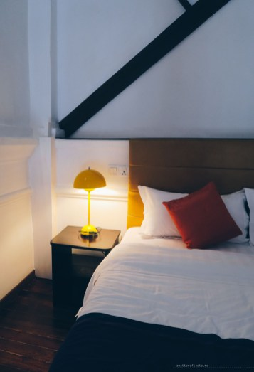 Sarang Paloh Heritage Stay bed