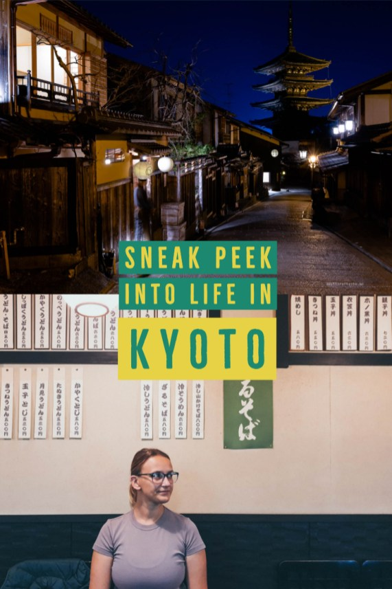 Sneak peek into life in Kyoto