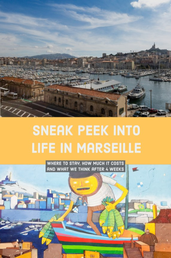 Sneak peek into life in Marseille - prices, thoughts and recommendations
