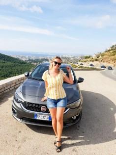 Southern France road trip car
