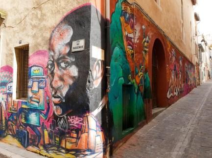 Street Art in Marseille corner