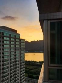 Taipei our apartment view