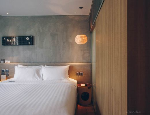 ad lib bangkok offers plush rooms, barista-made coffee and is like a quiet oasis in the busy city.