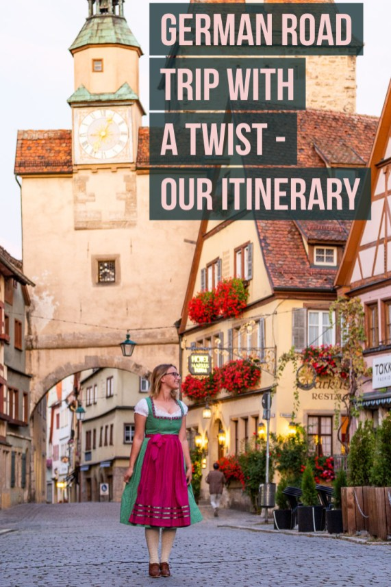 road trip in Germany with a twist - our itinerary