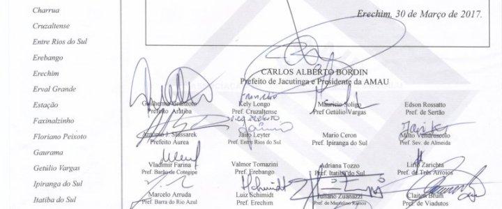 AMAU se manifesta sobre o veto presidencial do ISS