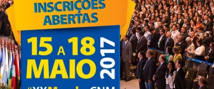 Comitiva da AMAU participa da Marcha dos prefeitos em Brasília