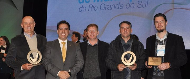 Municípios da AMAU são premiados em Porto Alegre