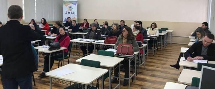 AMAU promove treinamento sobre Matriz de Saldos Contábeis