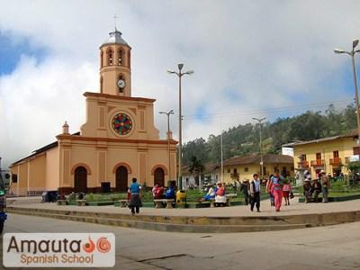 Cajamarca in the northern Andes in Peru   Amauta