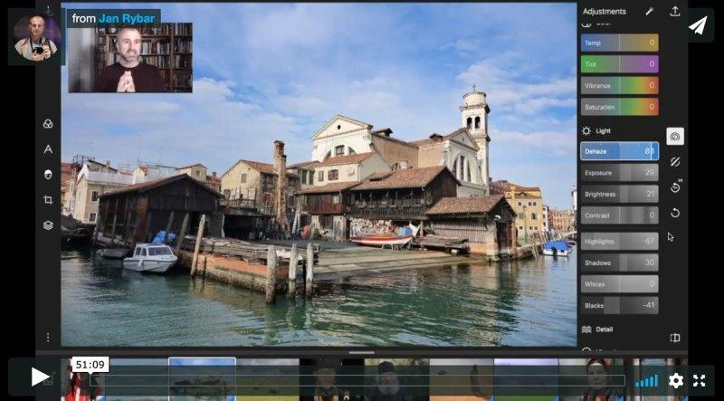 Webinář úpravy fotografií