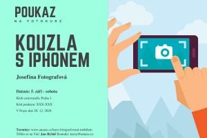 Dárkový poukaz kurz fotografování s iPhonem