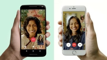 whats app video call - amaze view