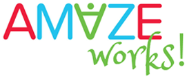 AMAZE works logo