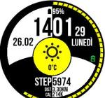 Amazfit Pace Smartwatch APK based watchface Black&White