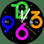 Amazfit Watchface Pace – Big Neon Digits