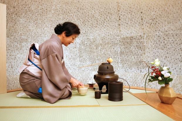 upacara minum teh jepang