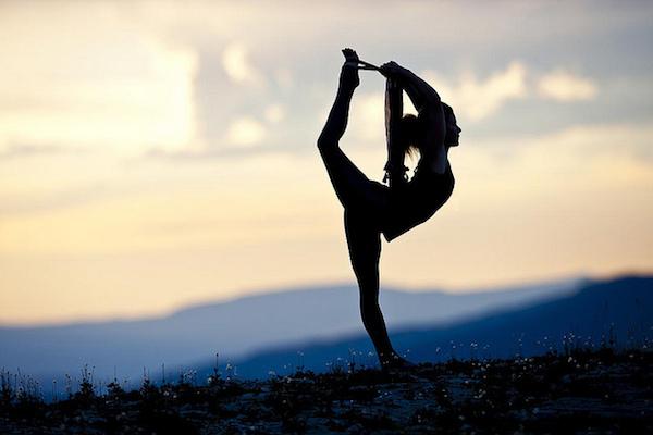 yoga siluet