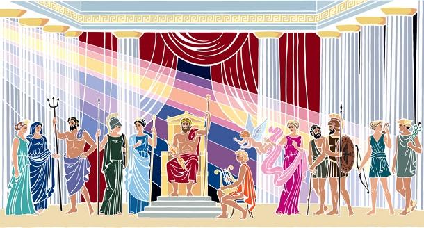 12 Titan-Dewa Yunani