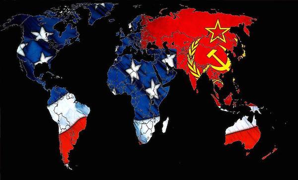 peta perang dingin