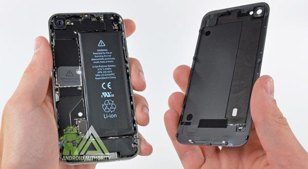 baterai smartphone lithium